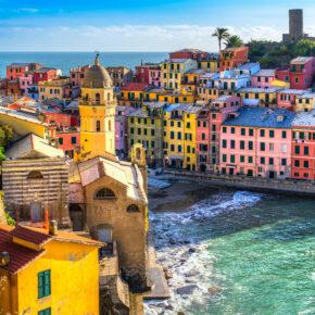 Italien-Kombi: 5 Tage Cinque Terre in TOP Unterkunft & Flug nur 81€