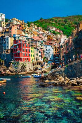 Italien Riomaggiore Cinque Terre
