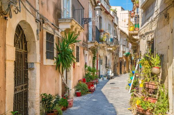 Italien Sizilien Ortigia