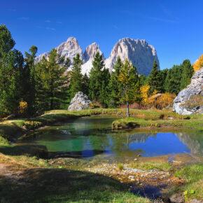 Italien Südtirol Dolomiten