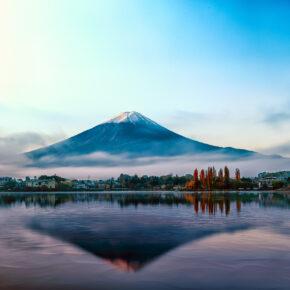 Der Mount Fuji in Japan: Alles zu den Aktivitäten, Touren & zum Klima