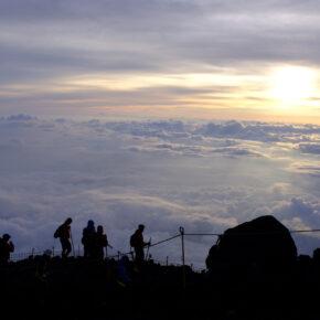 Japan Mount Fuji Sonnenaufgang