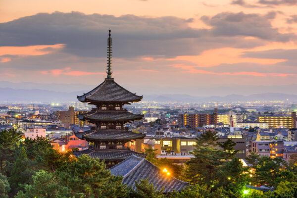 Japan Nara Skyline