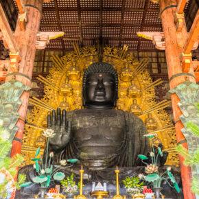 Japan Nara Todai Ji Tempel Nara