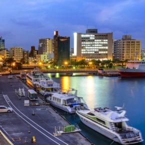 Japan Okinawa Naha Stadt