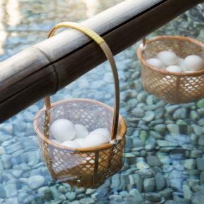 Japan Onsen Eier