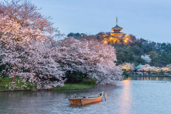 Japan Yokohama Sankeien Garten