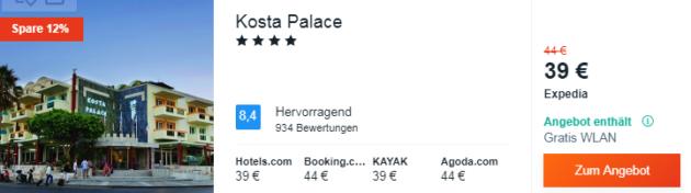 Kos Hotel Schnäppchen