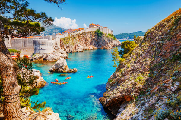 Kroatien Dubrovnik Fort Bokar