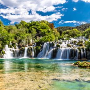Kroatien: 4 Tage nahe Krka Nationalpark mit toller Unterkunft, Meerblick & Flug nur 103€