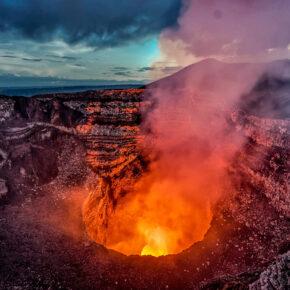 Nicaragua Masaya Vulkan