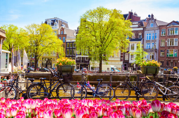 Niederlande Amsterdam Brücke