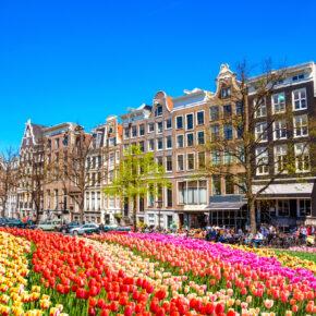 Traum-Tage in Amsterdam: 2 Tage im 4* Hotel mit Skybar ab 50€