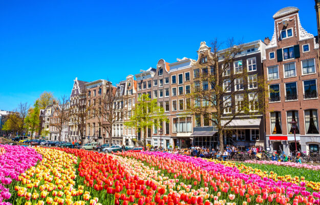 Niederlande Amsterdam Fruehling