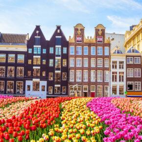 Wochenende in Amsterdam: 2 Tage im zentralen 3* Hotel im Sommer nur 26€