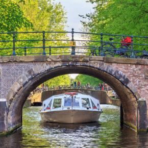 Wochenende in Amsterdam: 2 Tage mit TOP 3* Hotel im Stadtzentrum & Frühstück ab 39€