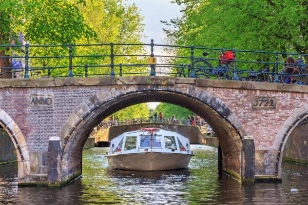 Niederlande Amsterdam Kanal
