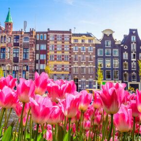 Städtetrip: 2 Tage Amsterdam im tollen 4* Hotel für 26€
