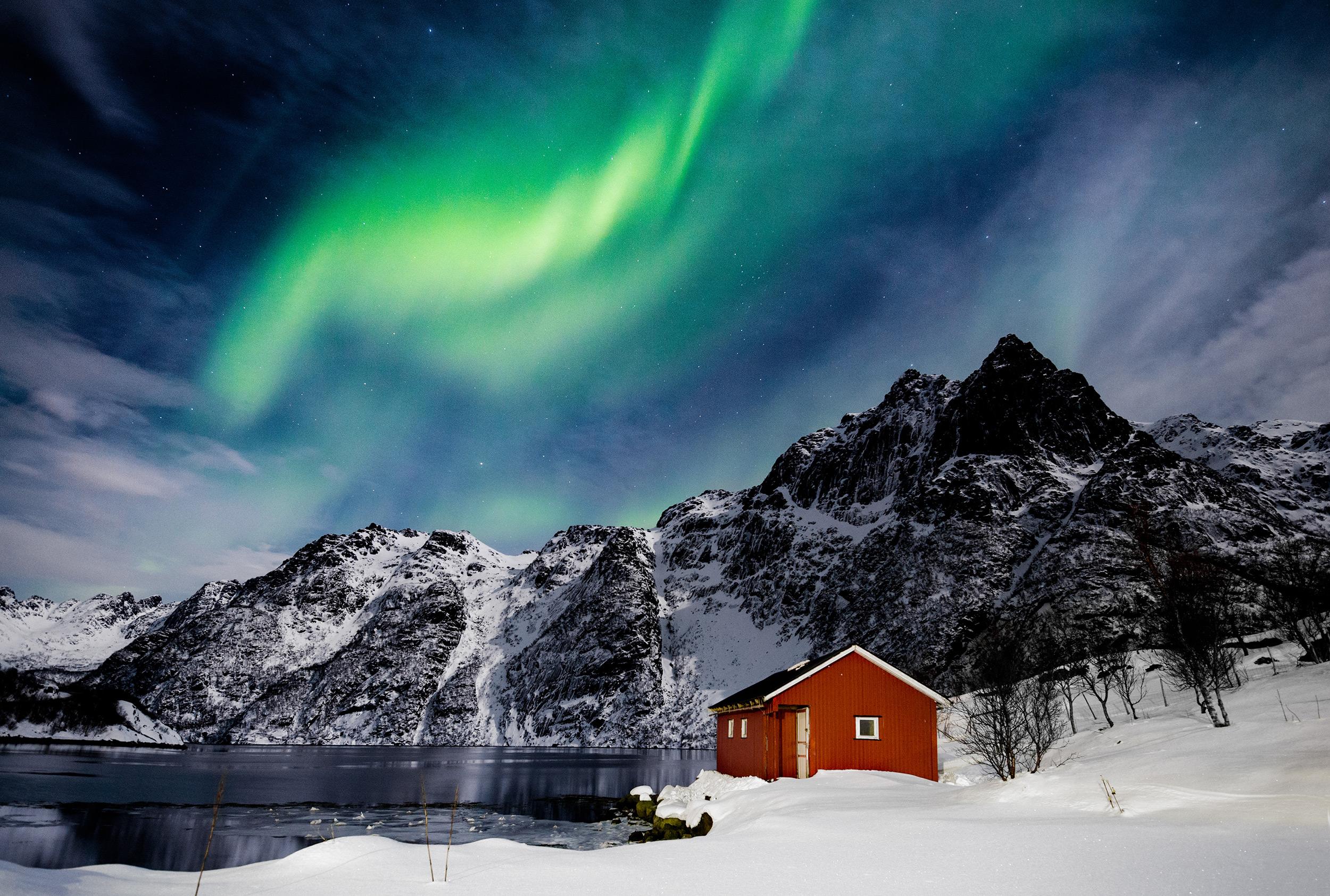 polarlichter norwegen 2020