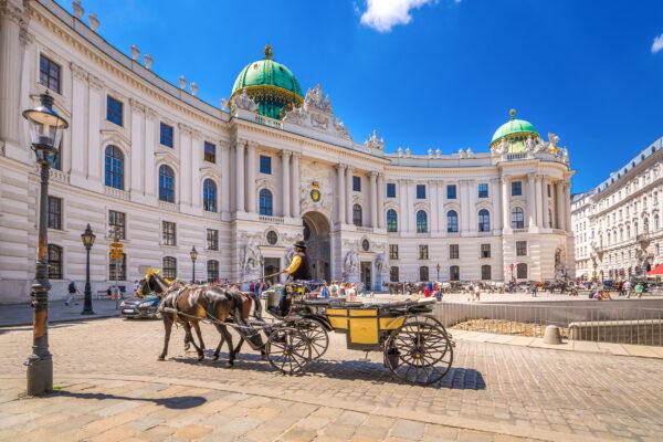 Österreich Wien Hofburg
