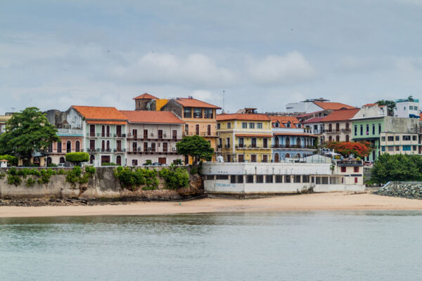 Panama Casco Viejo Haeuser