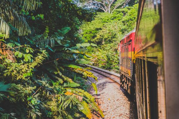 Panama City Colon Zugstrecke