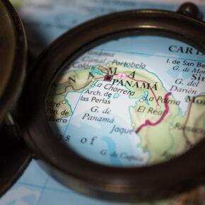 Panama Karte