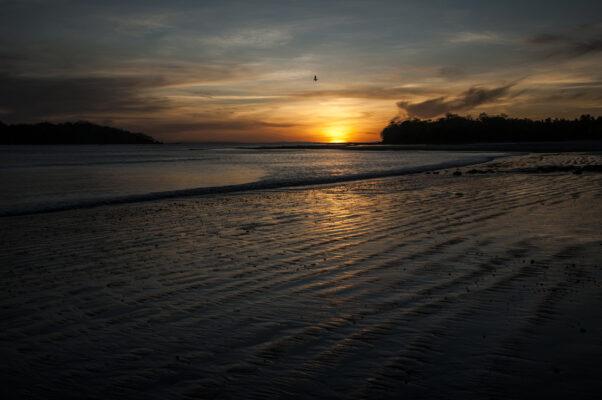 Panama Santa Catalina Sonnenuntergang