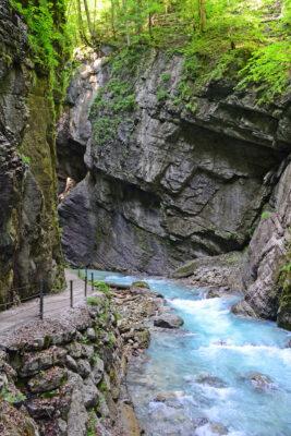 Partnachklamm Fluss