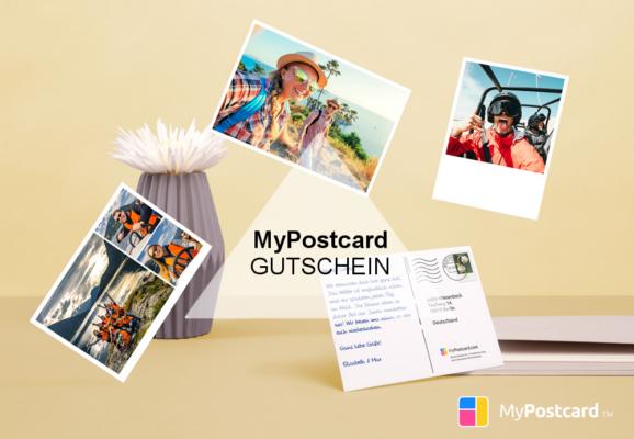 MyPostcard Gutschein
