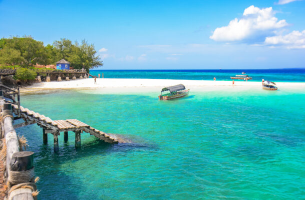Sansibar Changuu Insel Treppe