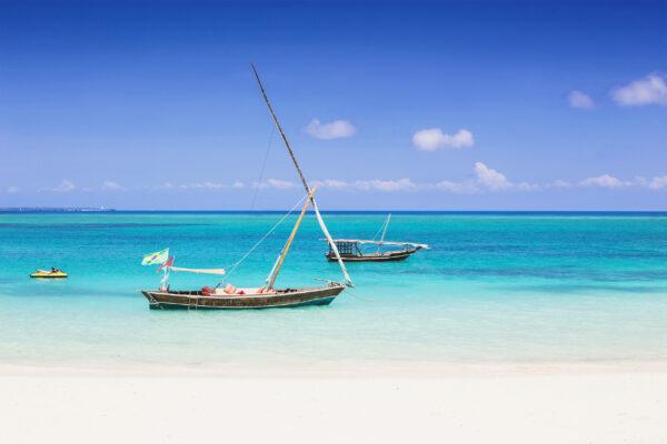 Sansibar Tropische Insel Boot