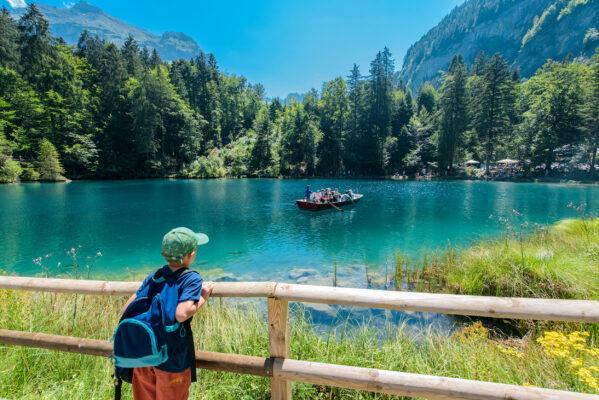 Schweiz Blausee