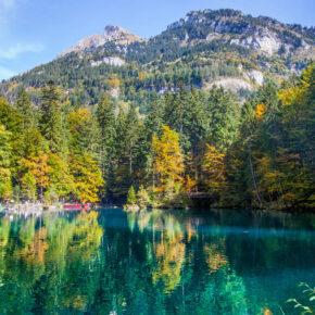 Schweizer Juwel Blausee: 2 Tage übers Wochenende mit Hotel in See-Nähe & Frühstück nur 57€