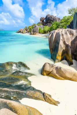 Seychellen Island La Digue Dargent Beach