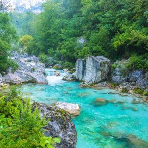 Natur pur in Slowenien: 3 Tage in Nähe der Tolmin-Klamm mit TOP Apartment & Flug nur 72€
