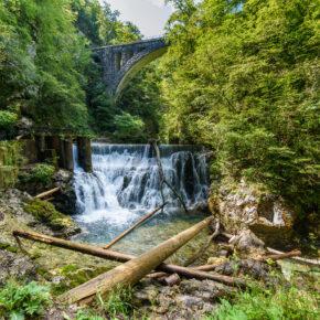 Naturidylle Vintgar-Klamm über's Wochenende: 3 Tage Slowenien mit Unterkunft & Flug für 84€