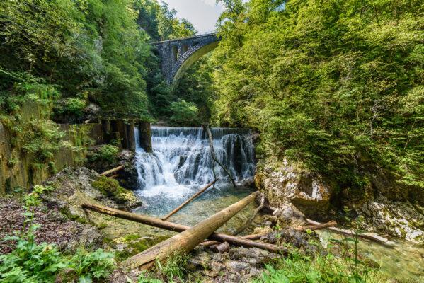 Slowenien Vintar Gorge