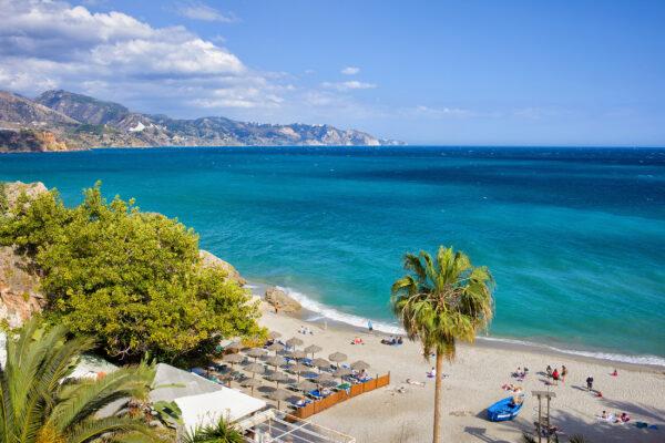Spanien Costa Del Sol Calahonda Beach