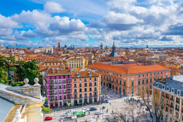 Spanien Madrid Aussicht