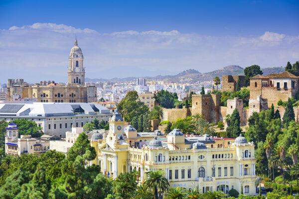Spanien Malaga Alcazaba