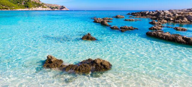 Spanien Mallorca Cala Agulla Strand