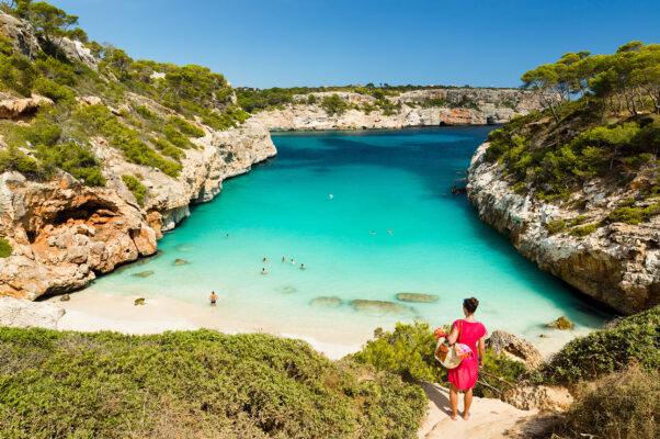 Spanien Mallorca Strand Calo Des Moro