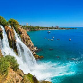 7 Tage türkische Riviera im 4* Strandhotel mit All Inclusive, Flug & Transfer nur 281€