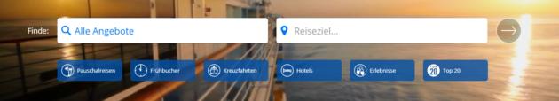 Travelzoo Suche