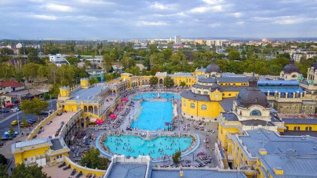 Ungarn Budapest Gellert Spa