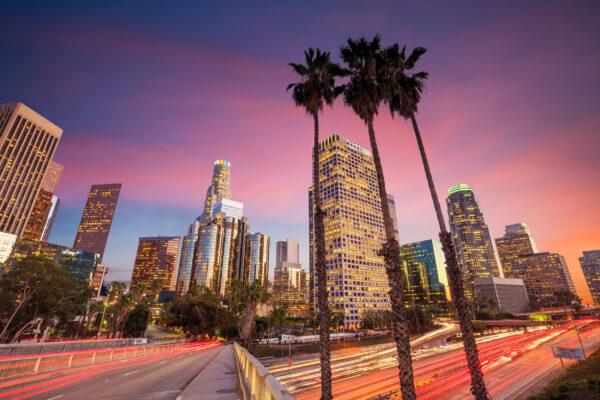 USA Los Angeles Skyline