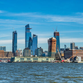 """Neues Stadtviertel in New York: Erster Teil der """"Hudson Yards"""" eröffnet"""