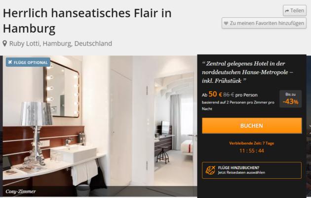 Kurztrip Am Wochenende 2 Tage Hamburg Mit Neuem Zentralem 4 Hotel