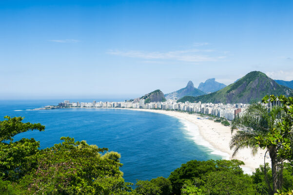 Brasilien Rio de Janeiro Strand Copacobana